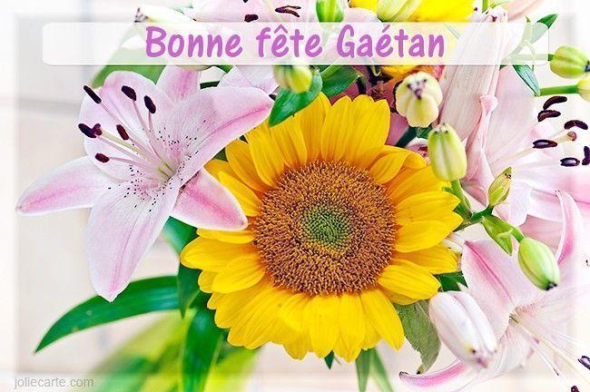 Citationdicton Ephéméride Image Bonne Fête Aux Gaétan